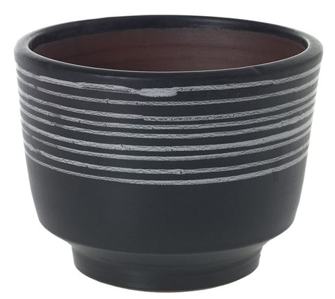 Kojo Striped Pot