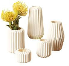 Pleated Vase/Candleholder