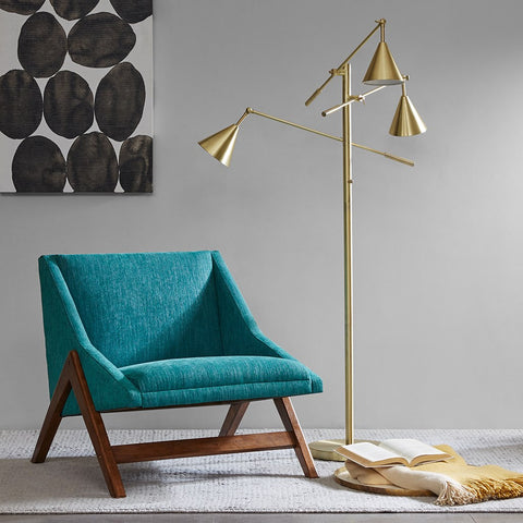 Gold Branch Floor Lamp