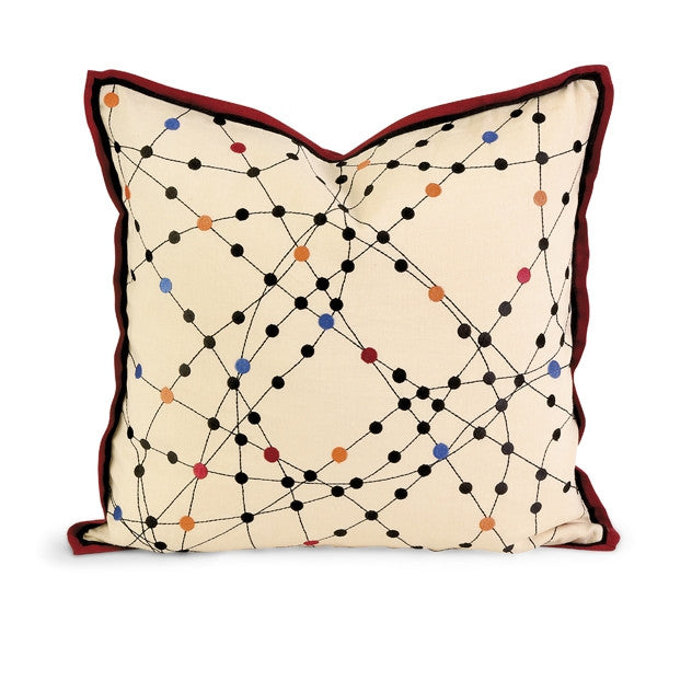 Xander Embroidered Pillow