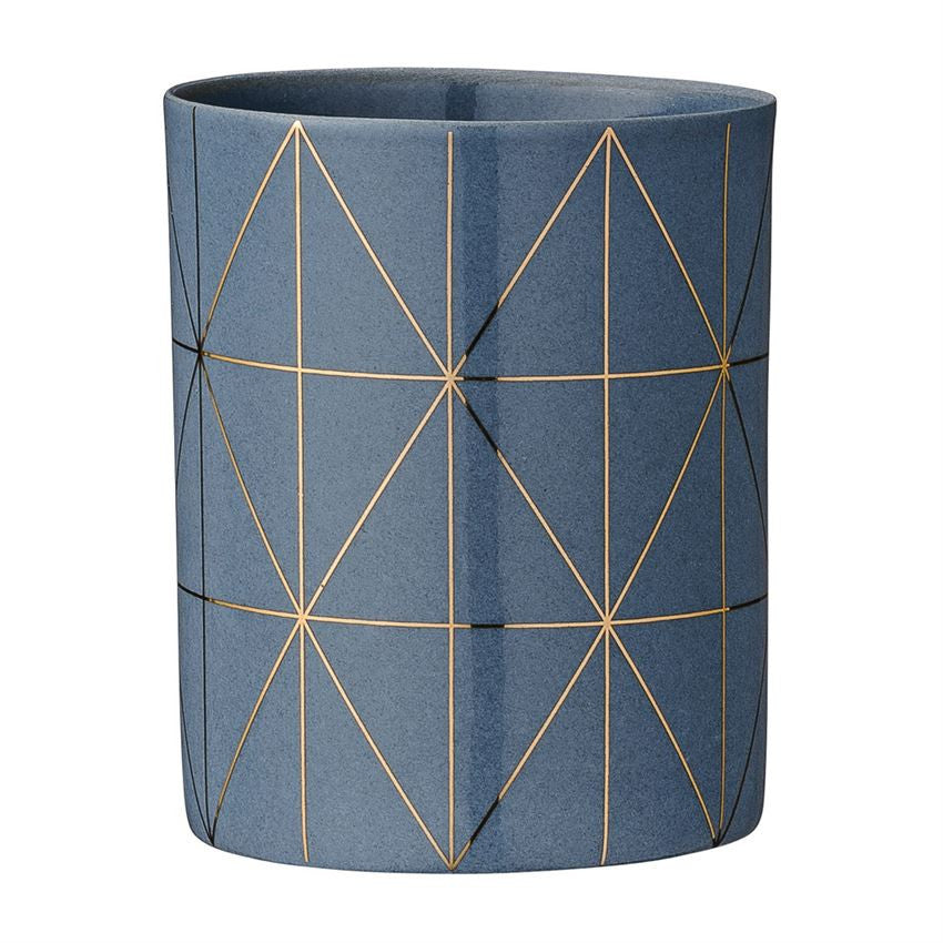 Grey and Gold Votive