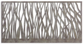 Branched Metal Wall Decor
