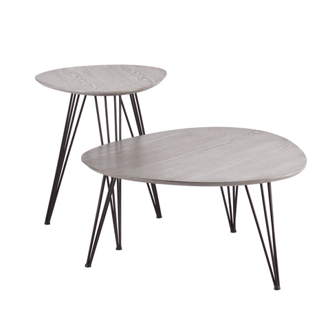 Bannock 2 piece Table Set
