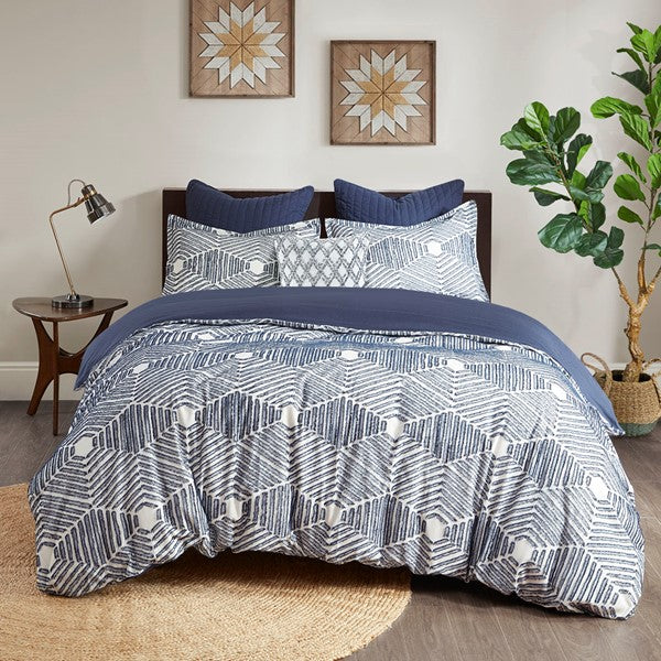 Ellipse Cotton Jacquard Comforter
