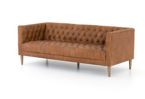 William Leather Sofa
