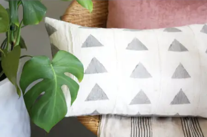 Norwegian Wood Lumbar Arrow Pillow