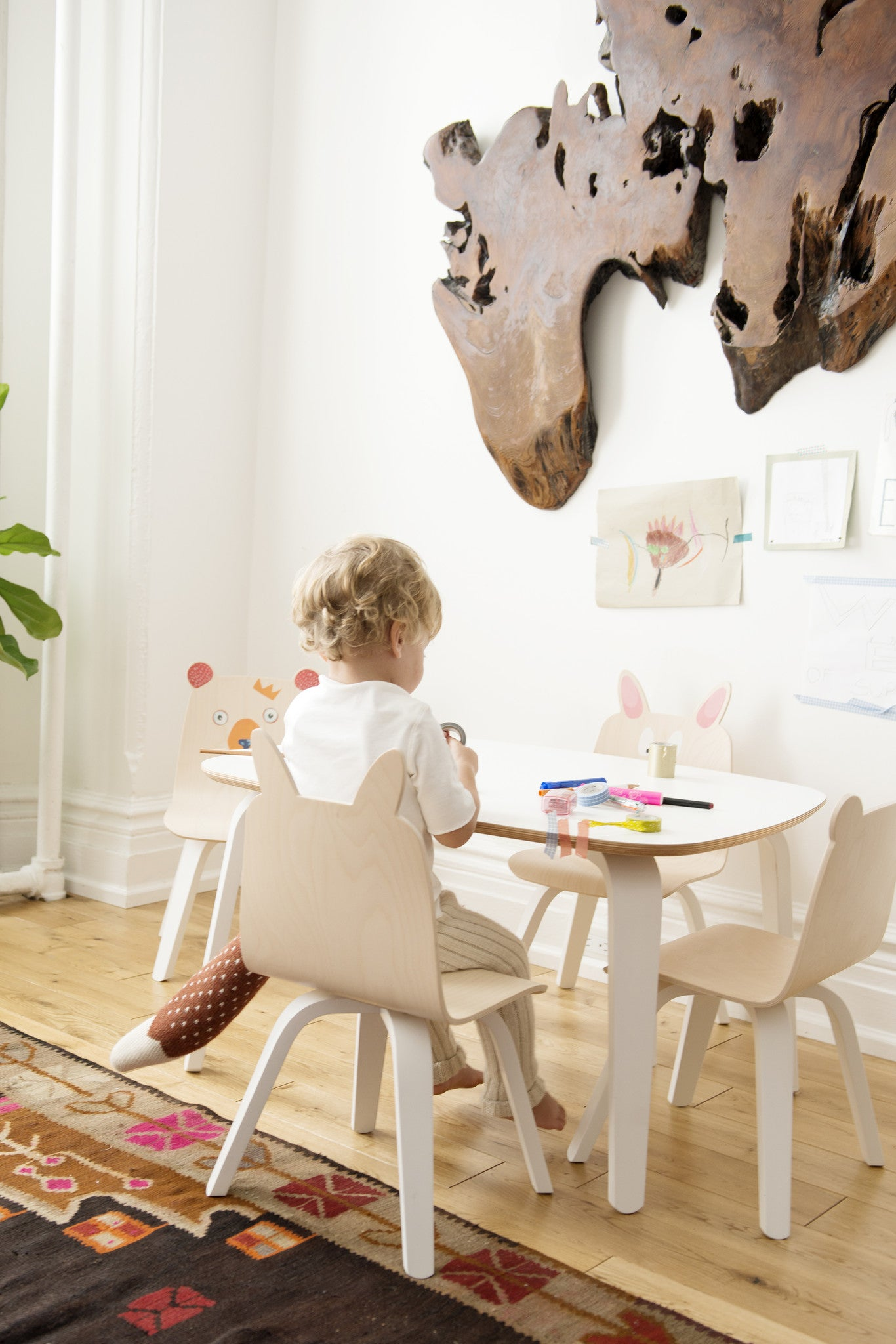 Play Chairs - Bear or Rabbit, Set of 2