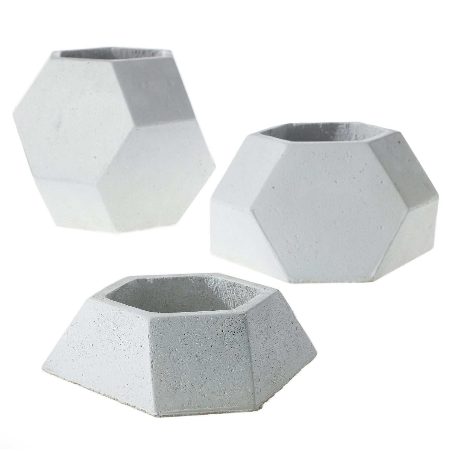 Hex Planters (Set of 3)
