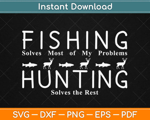 Funny Fishing And Hunting Gift Christmas Humor Hunter Cool