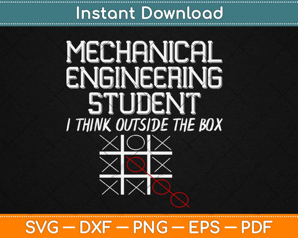 Mechanical Engineer College Student Illustration Svg Design