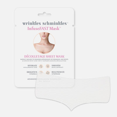 InfuseFAST Décolletage Sheet Mask (1 Sheet Mask)