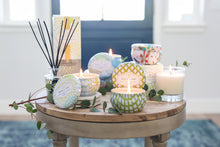 Load image into Gallery viewer, Linen & Lace Candle Tin