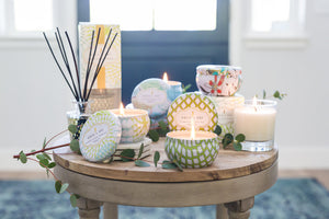 Linen & Lace Candle Tin