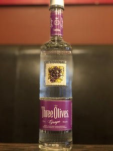 THREE OLIVES GRAPE VODKA 750 ML