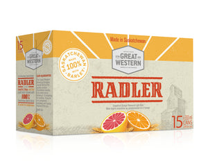 GREAT WESTERN RADLER (15 x 355ml)