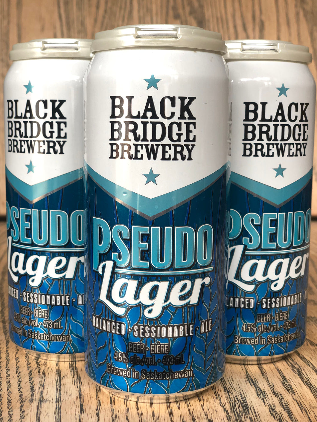 BLACK BRIDGE PSEUDO LAGER (4 x 473ml)
