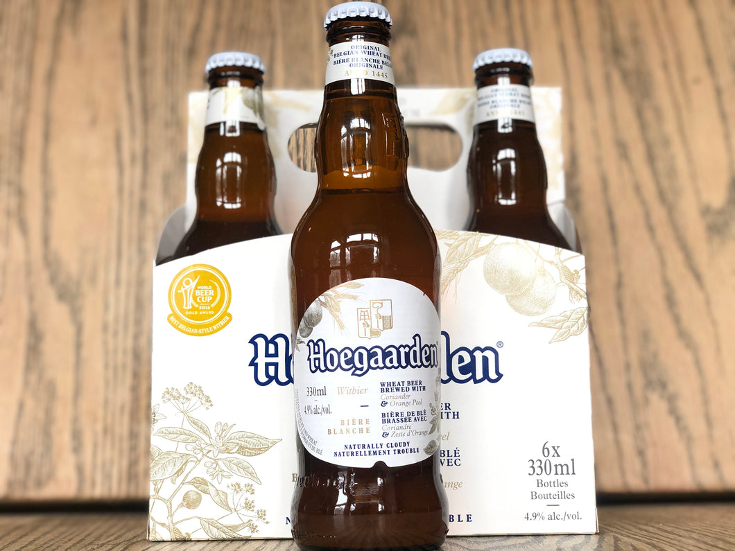 HOEGAARDEN 6 PACK BOTTLE