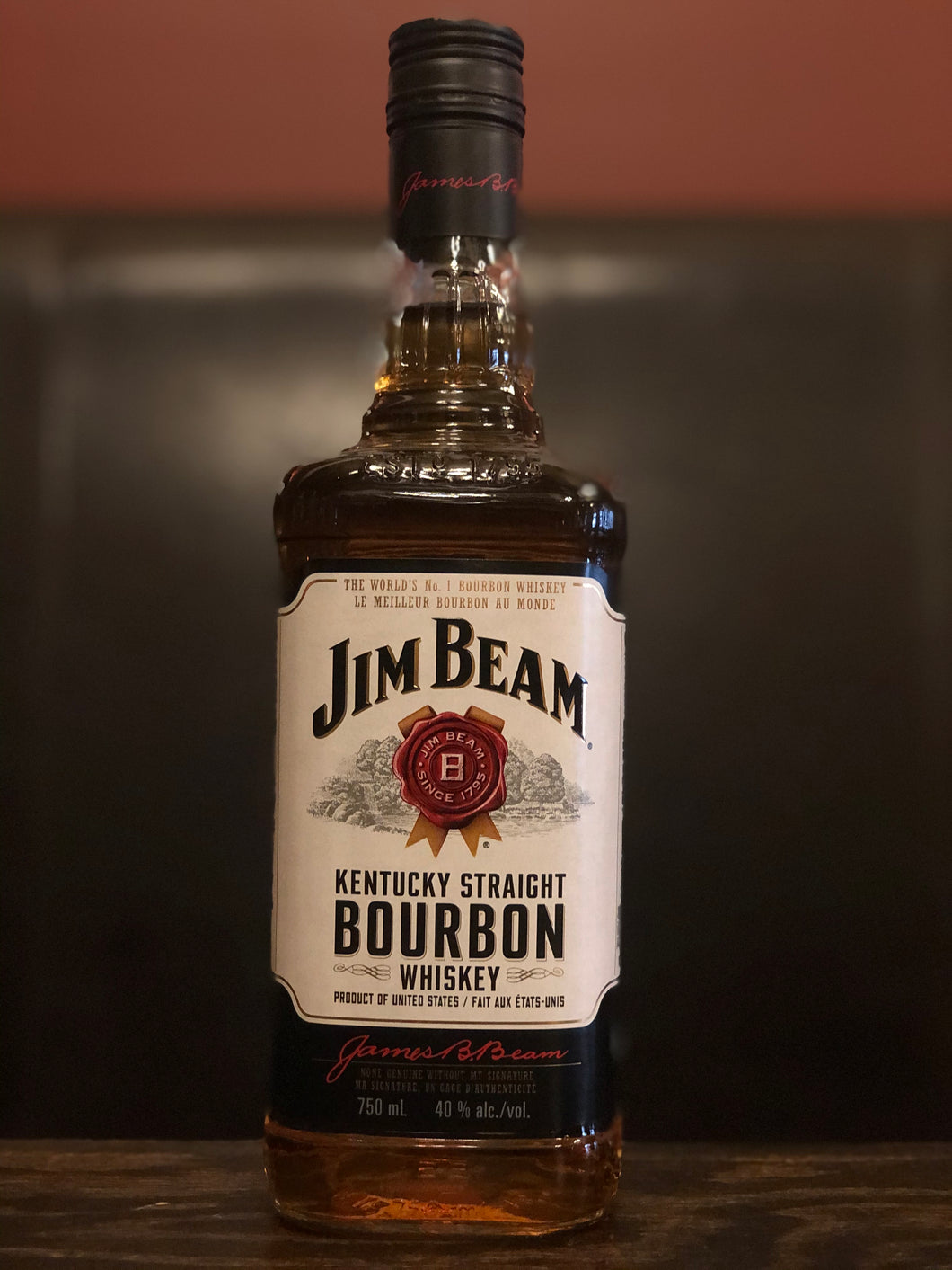 JIM BEAM BOURBON 750 ML