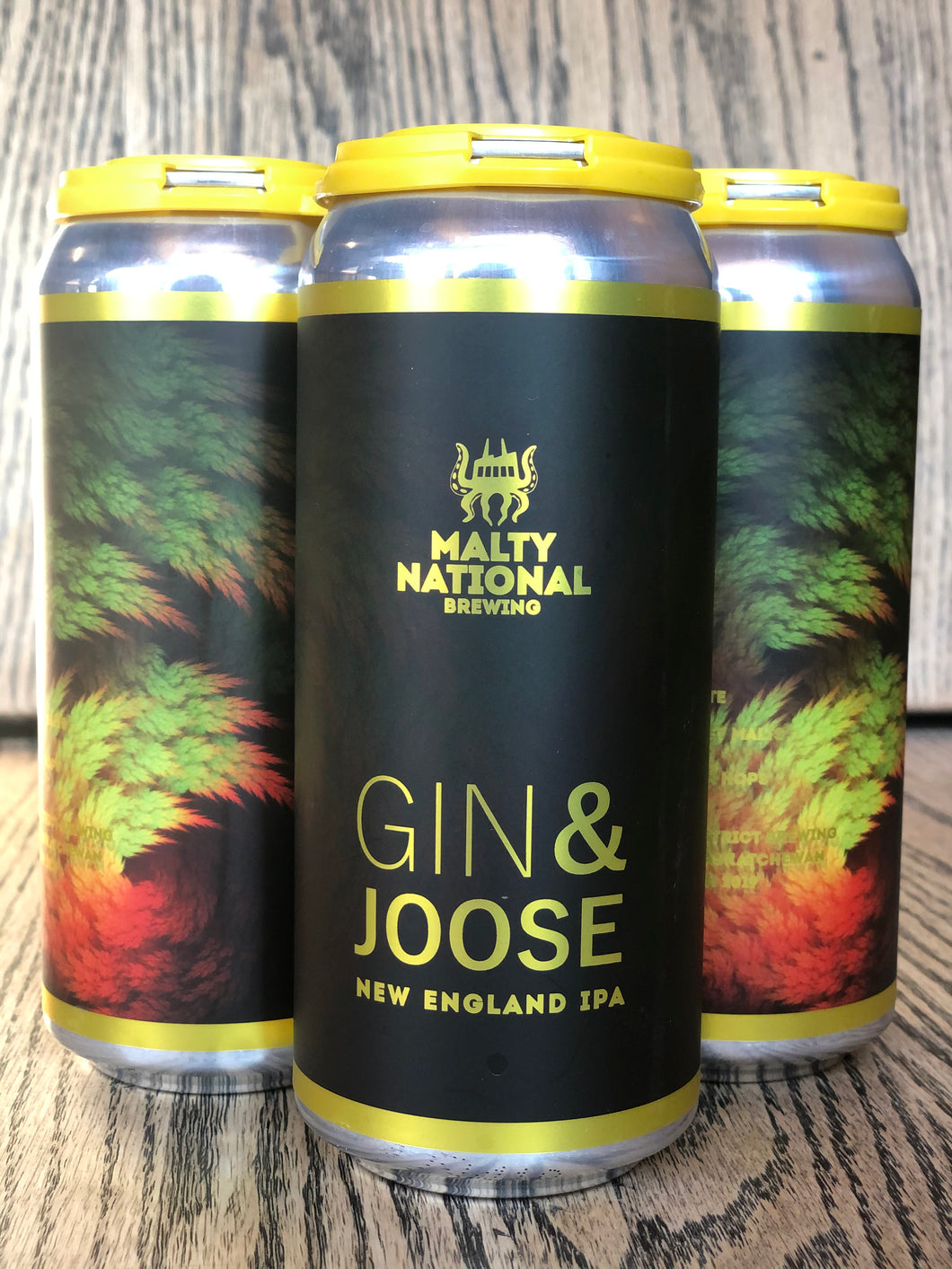 MALTY NATIONAL GIN & JOOSE (4 x 473ml)