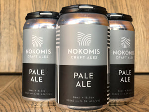 NOKOMIS PALE ALE (4 x 355ml)
