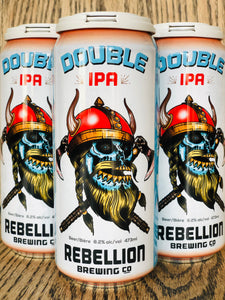 REBELLION HAZY DOUBLE IPA (4 x 473ml)