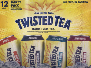 TWISTED TEA MIXER PACK (12 x 355ml)