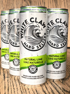 WHITE CLAW NATURAL LIME (6 x 355ml)