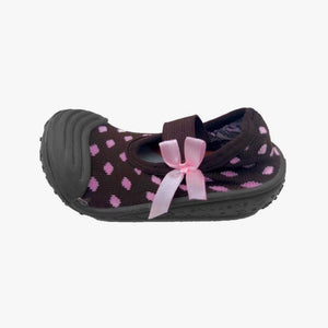 "Skidders Baby Girls Mary Jane Shoes ""Pink Diamonds"""