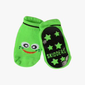 "Skidders Baby Boys Grip Socks ""Green Frog"""