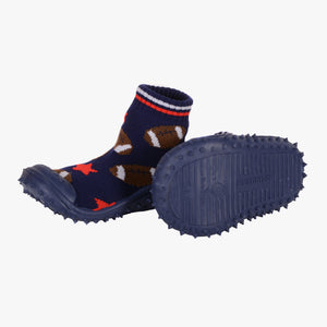 "Skidders Baby Boys Shoes ""Football Star"" Navy Blue"