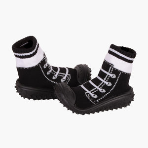 "Skidders Baby Boys Shoes ""Sneaker Laces"" Black"