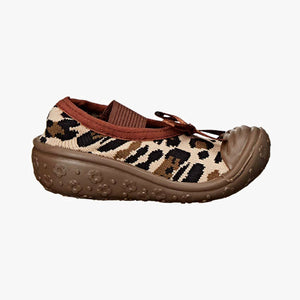"Skidders Baby Girls Mary Jane Shoes ""Leopard"""