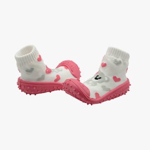 "Skidders Baby Girls Shoes ""My Valentine Bear"""