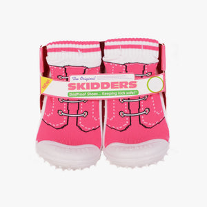 "Skidders Baby Girls Shoes ""Pink Sneaker Laces"""