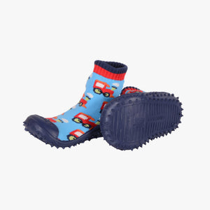 "Skidders Baby Boys Shoes ""Blue/Red Cars"""