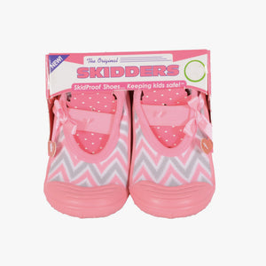 "Skidders Baby Girls Mary Jane Shoes ""Geo Stripes"""