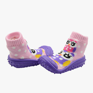 "Skidders Baby Girls Shoes ""Owls"""