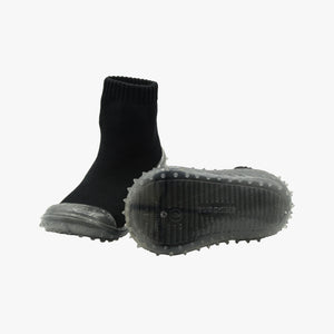 Skidders Black Crystal Grip Shoes