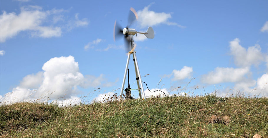 Infinite Air 12: The New Portable Wind Turbine by Texenergy Product Development