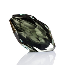 Load image into Gallery viewer, Glacier Vase - Glass Sculpture by David Reade Glass Art