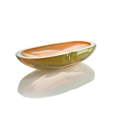 Load image into Gallery viewer, Cut & Polished Vessel - Glass Bowl by David Reade Glass Art