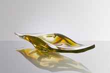 Load image into Gallery viewer, Cut & Polished Platter - Hand Blown by David Reade Glass Art