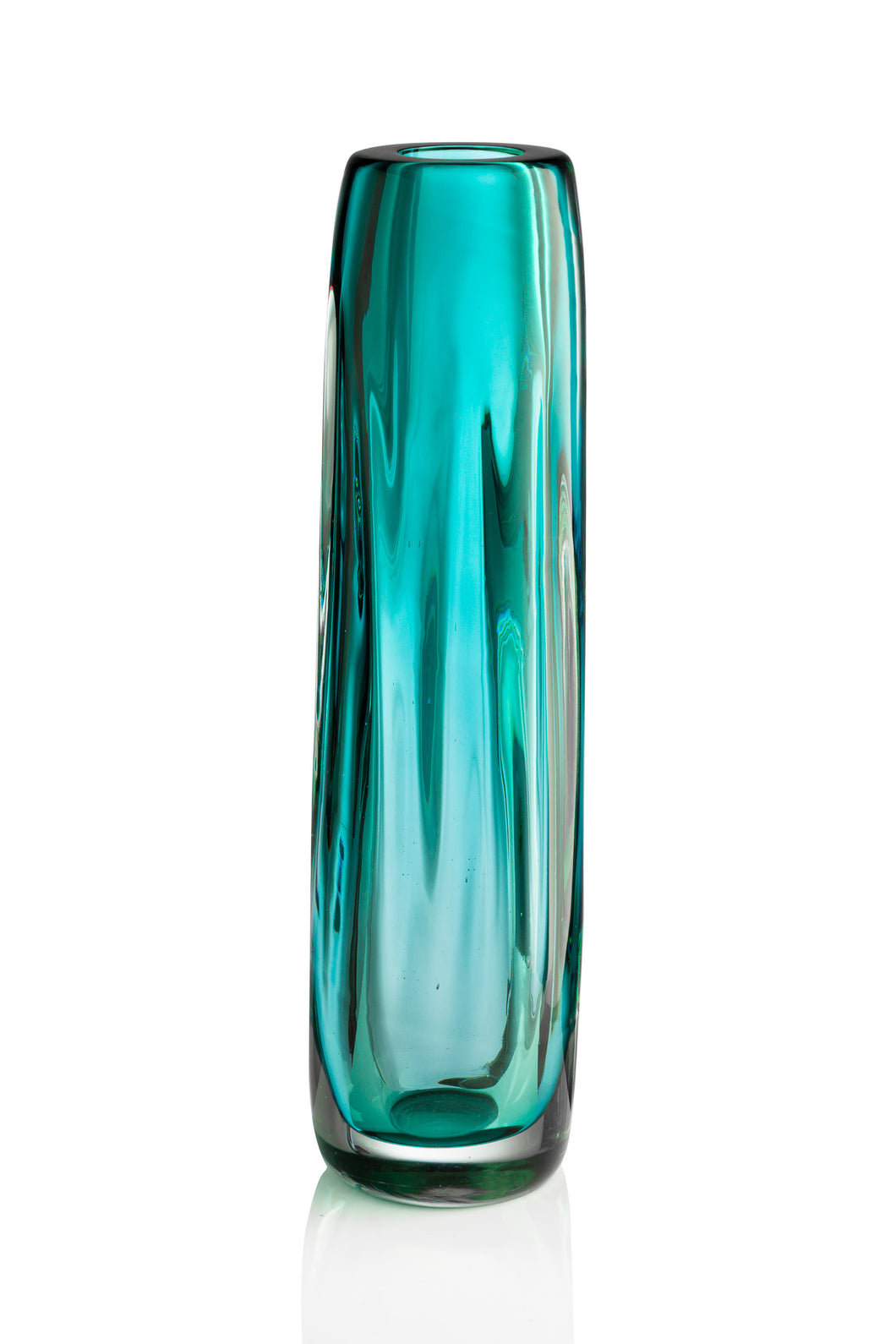 Tall Chunky Vase - David Reade Glass Art