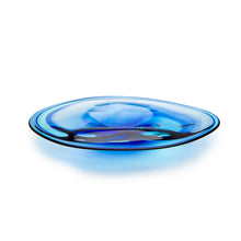 Load image into Gallery viewer, Oval Dipped Platter - David Reade Glass Art