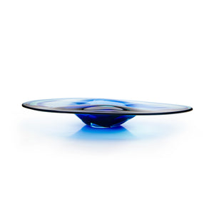 Oval Dipped Platter - David Reade Glass Art