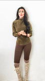 Meadow Suede Pull Over