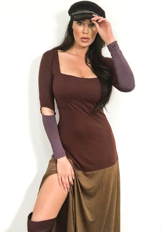 Merlot wrap dress - SOLD OUT