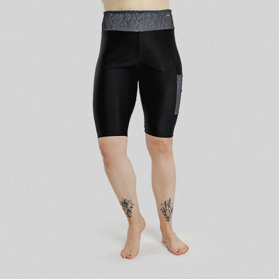 Wild Waves - Short Leggings - badaga