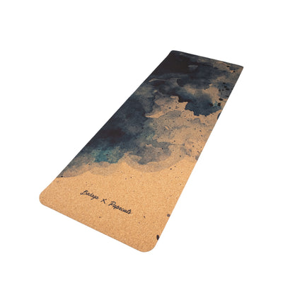 Watercolor Dance Yoga Mat - badaga