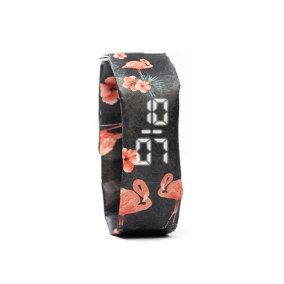Slim Watch - Fluffy Flamingo - badaga